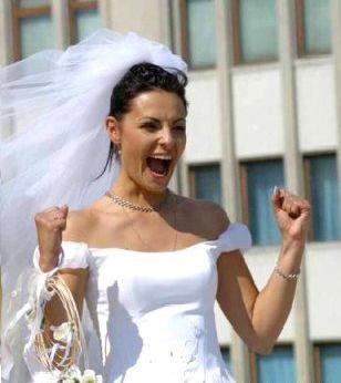выйти замуж не напасть