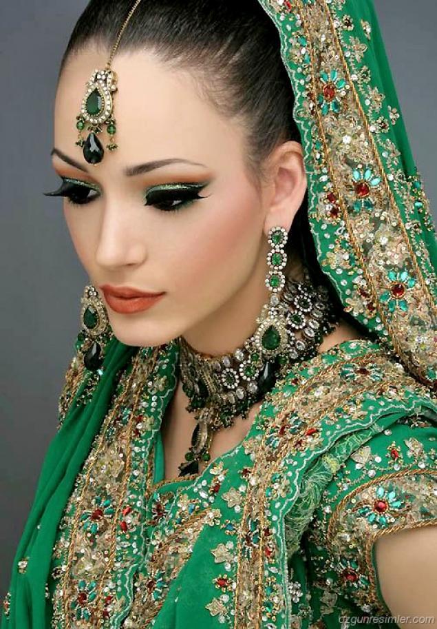 Индианки в украшениях фото
