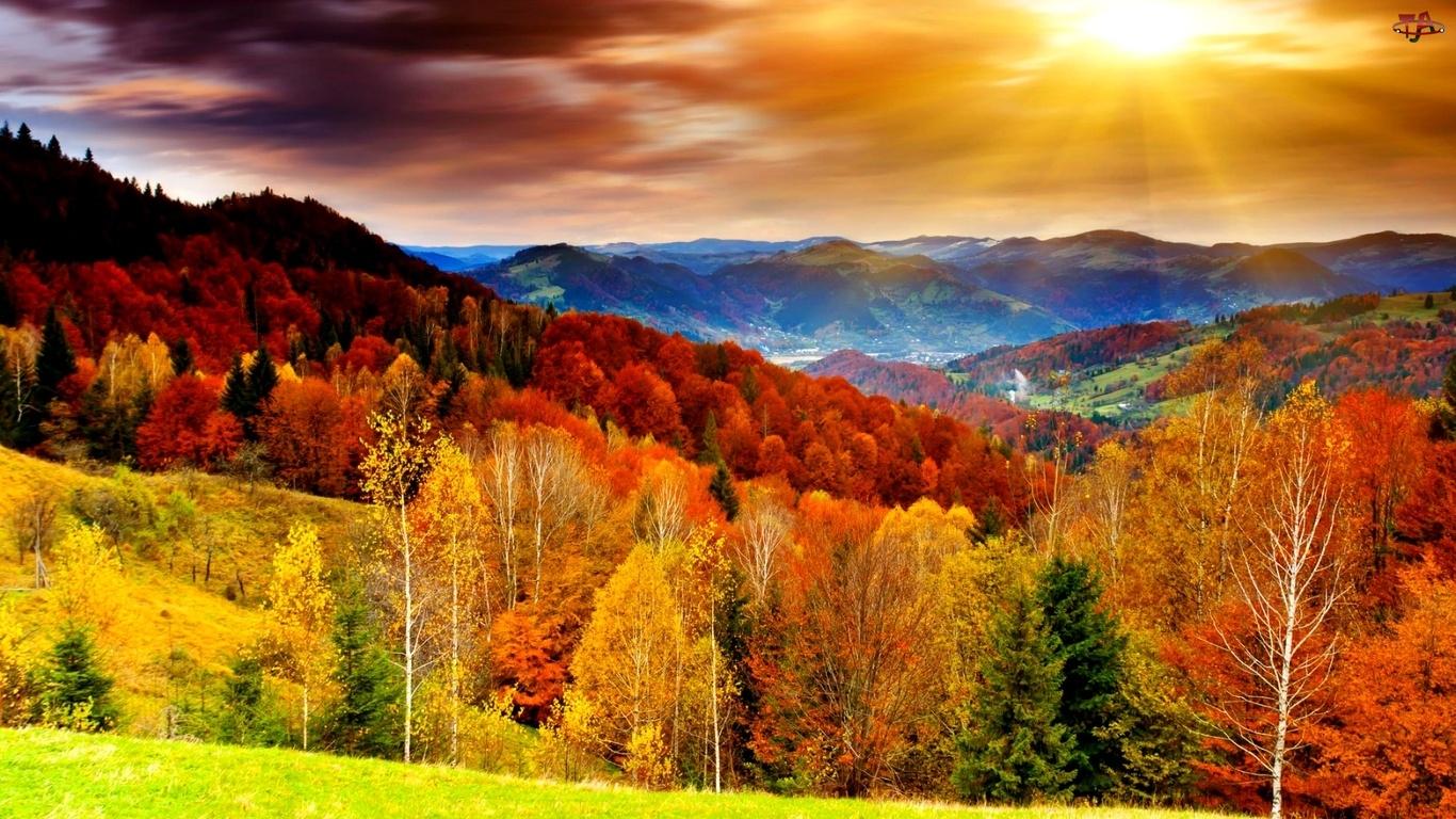 картинки осень на заставку